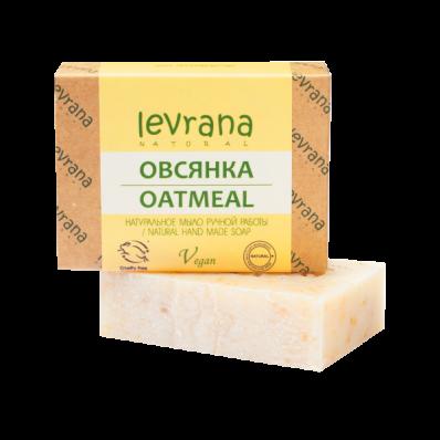 Мыло натуральное ОВСЯНКА 100гр (Levrana)