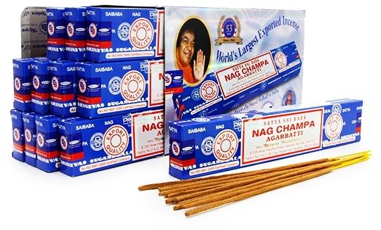 Благовония Индийские NAG CHAMPA 10 палочек (Satya)