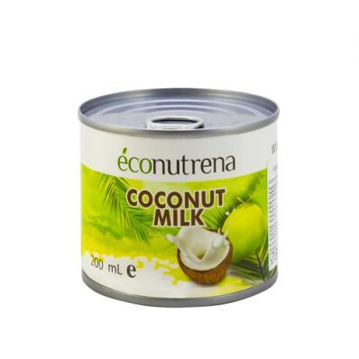 Молоко КОКОСОВОЕ органические 17% 200мл (Econutrena)