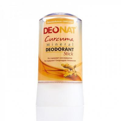 Дезодорант-Кристалл натуральный КУРКУМА 60гр (DeoNat)