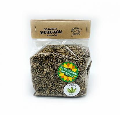 Конопля пищевая семена 200гр (Поздний завтрак)