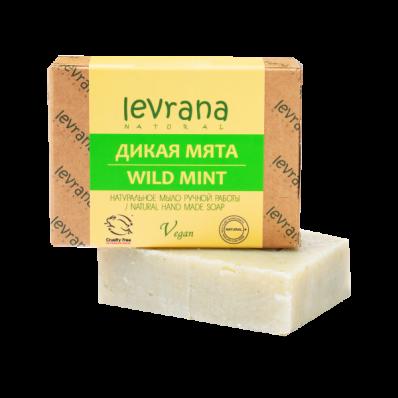 Мыло натуральное ДИКАЯ МЯТА 100гр (Levrana)