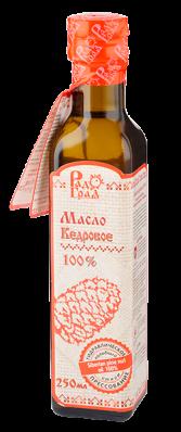 Масло КЕДРОВОЕ 250мл (Радоград)
