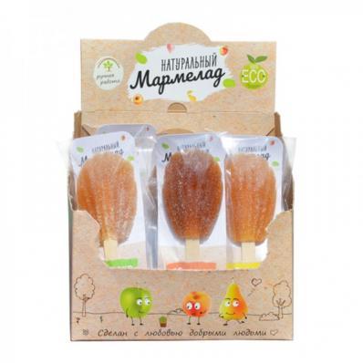 Мармелад натуральный на палочке 1 шт (Белёвские сладости)