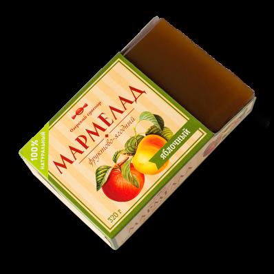 Мармелад фруктово-ягодный ЯБЛОКО 320гр (Озерский Сувенир)