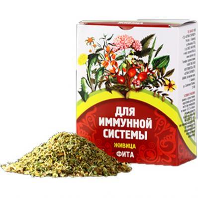Сбор травяной ЖИВИЦА для иммунной системы 40гр (Алтай-Старовер)