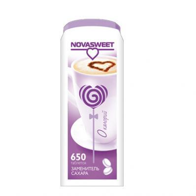 Подсластитель столовый в таблетках НОВАСВИТ 650табл (Novasweet)