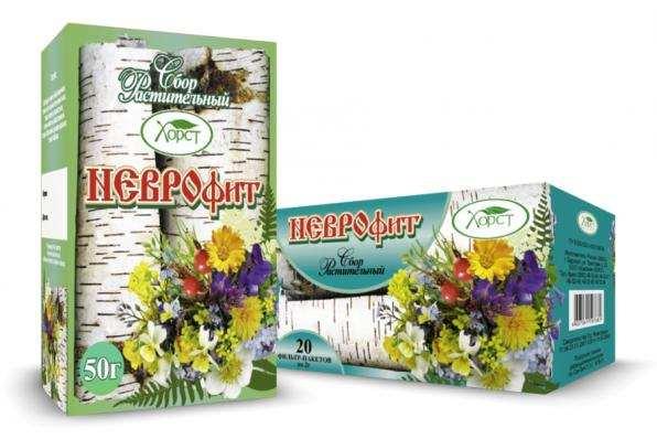 Сбор растительный НЕВРОФИТ успокаивающий 50гр (Хорст)