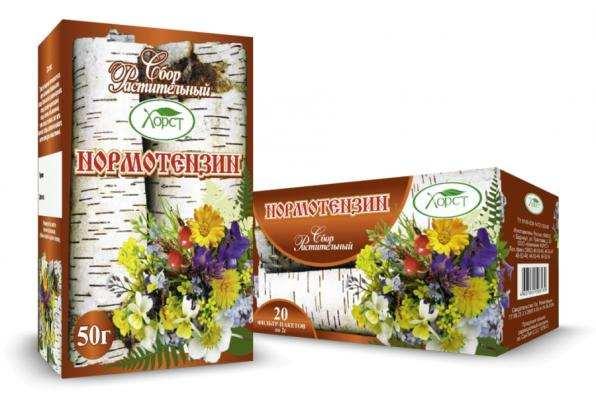 Сбор растительный НОРМОТЕНЗИН при повышенном давлении 50гр (Хорст)