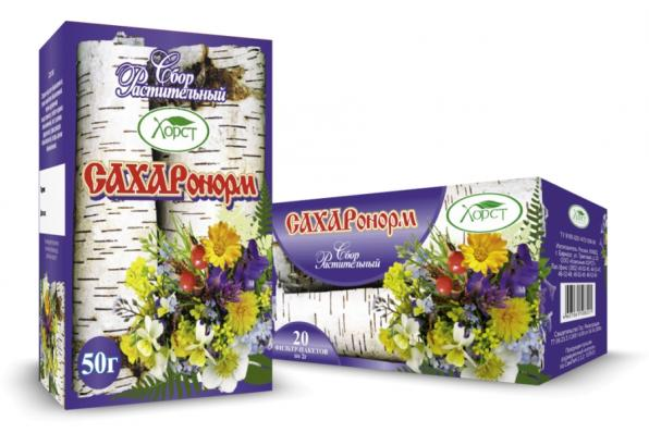 Сбор растительный САХАРОНОРМ 50гр (Хорст)