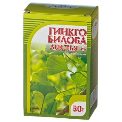 Гинкго билоба + клевер, цветки и трава 50гр (Хорст)
