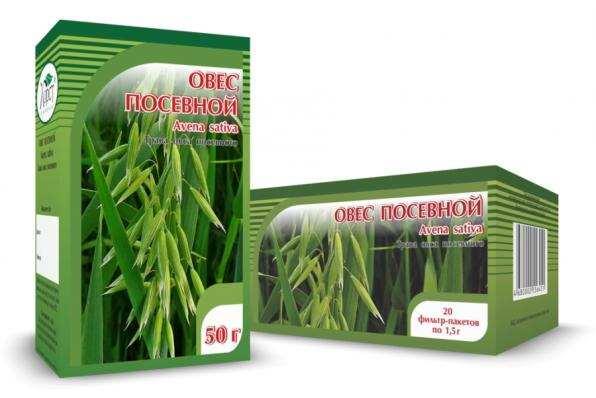Овес посевной, трава 50гр (Хорст)