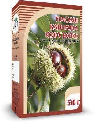 Каштан конский, плоды 50гр (Хорст)