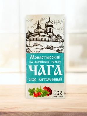 Чайный напиток ЧАГА сбор витаминный 20ф/п (Chagoff)