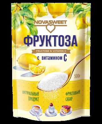 Фруктоза С ВИТАМИНОМ С 500гр (NovaSweet)