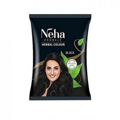 Хна для волос ЧЕРНЫЙ ЦВЕТ 20гр (Neha)