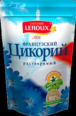 Цикорий натуральный порошкообразный растворимый 100гр (LEROUX)