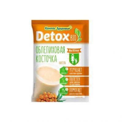 Кисель Detox Bio Activ облепиховая косточка 25гр (Компас Здоровья)
