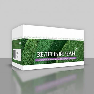Имбирный чай ОБЩЕУКРЕПЛЯЮЩИЙ 20ф/п (Хорст)