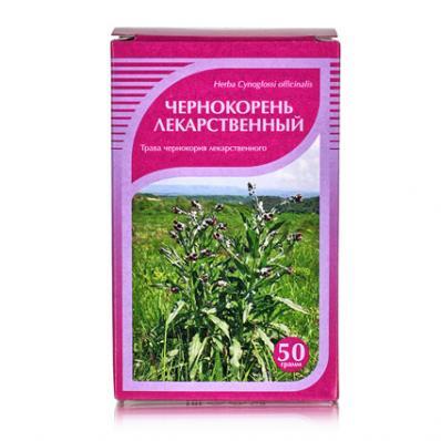 Чернокорень лекарственный, трава 50гр (Хорст)