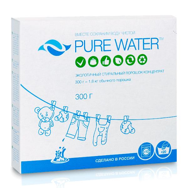 Стиральный порошок концентрат 300гр (PURE WATER)