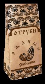 Отруби диетические РЖАНЫЕ 350гр (Дивинка)