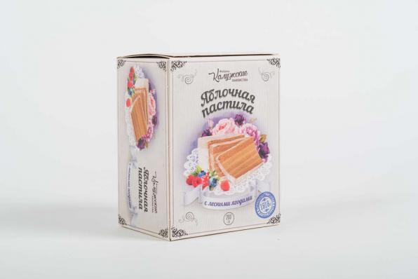 Пастила воздушная с ЛЕСНЫМИ ЯГОДАМИ без сахара 100гр (Калужские лакомства)