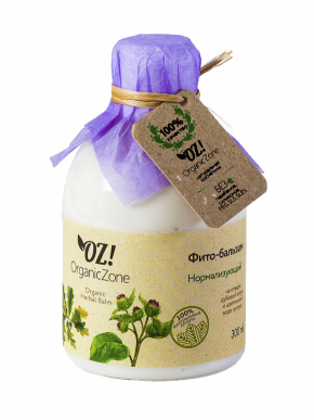 Фито-бальзам НОРМАЛИЗУЮЩИЙ 300мл (OrganicZone)