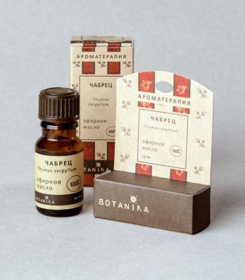Эфирное масло ЧАБРЕЦ 10мл (Ботаника)