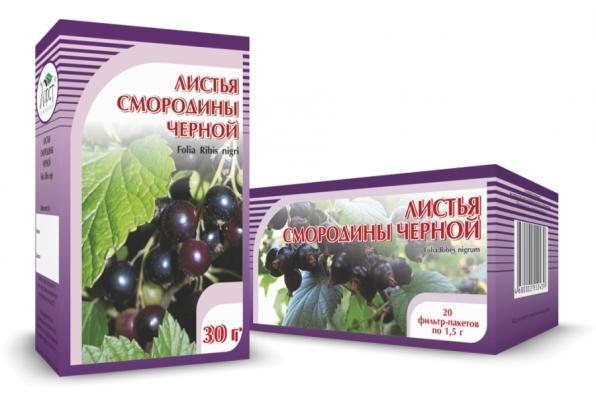 Смородина черная, листья 30гр (Хорст)