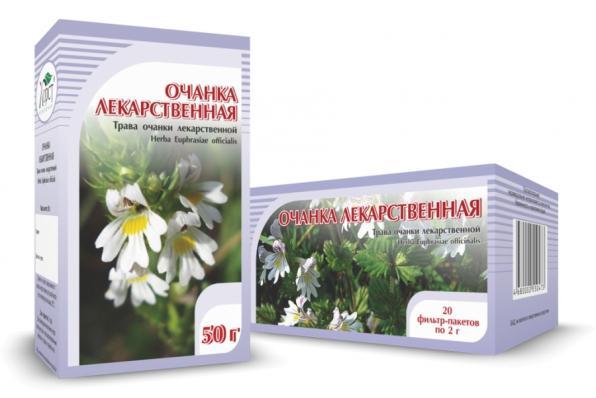 Очанка лекарственная, трава 50гр (Хорст)