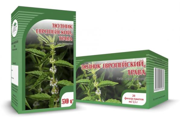 Зюзник европейский, трава 50гр (Хорст)