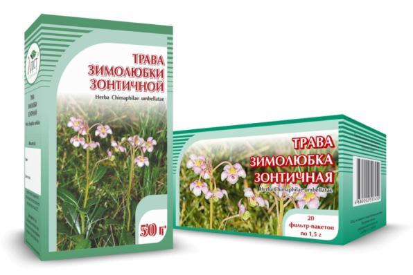 Зимолюбка зонтичная, трава 50гр (Хорст)
