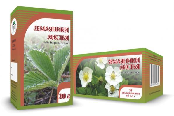 Земляники листья 30гр (Хорст)