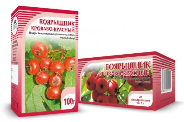 Боярышник кроваво-красный, плоды 100гр (Хорст)