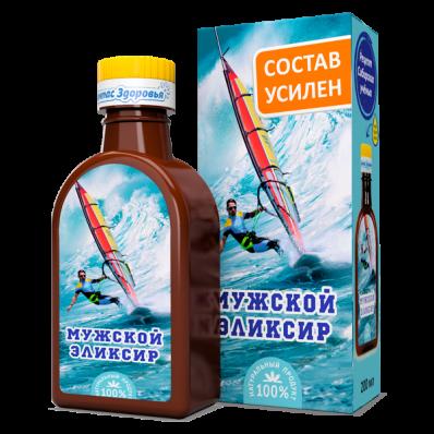 Масло льняное МУЖСКОЙ ЭЛИКСИР 200мл (Компас здоровья)