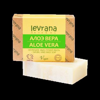 Мыло натуральное АЛОЭ 100гр (Levrana)