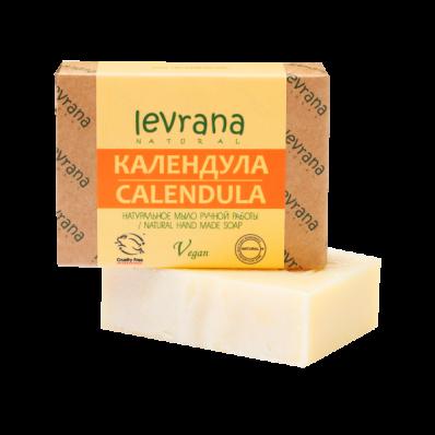 Мыло натуральное КАЛЕНДУЛА 100гр (Levrana)