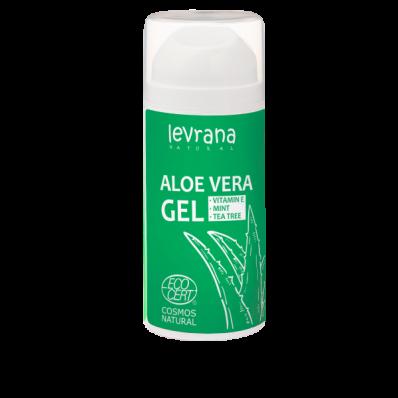 Гель АЛОЕ ВЕРА супер увлажнение снятие воспаления и тонизирование кожи 100мл (Levrana)