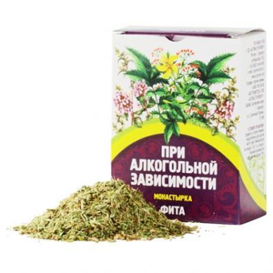 Сбор травяной МОНАСТЫРКА При алкогольной зависимости 40гр (Алтай-Старовер)