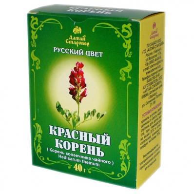 Красный корень Корень копеечника чайного 40гр (Алтай-Старовер)
