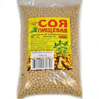Соя Амурская 1кг (Продукты Здорового питания)