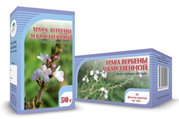 Вербена лекарственная, трава 50гр (Хорст)