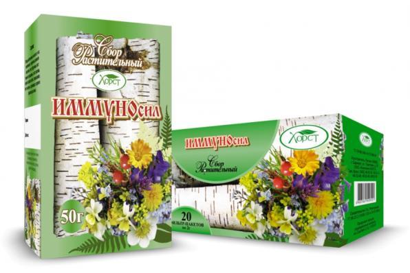 Сбор растительный ИММУНОСИЛ 50гр (Хорст)