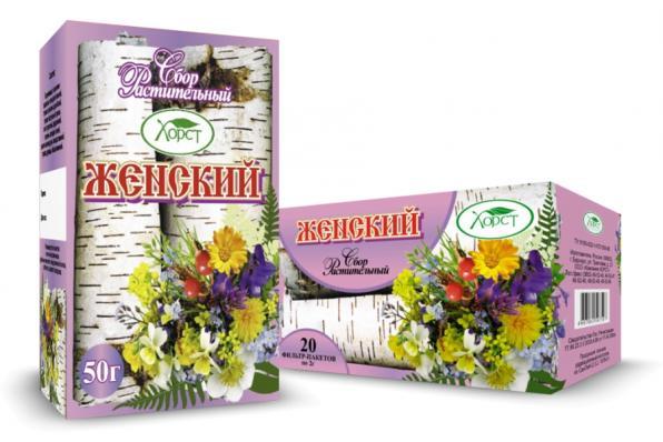 Сбор растительный ЖЕНСКИЙ 50гр  (Хорст)