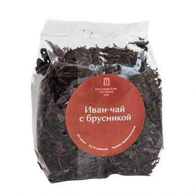 Иван-чай С БРУСНИКОЙ 50гр (Косьминский гостинец)