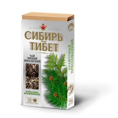 Чай чёрный непальский ПОЧКА КЕДРА МОЖЖЕВЕЛЬНИК 18куб (Сибирь Тибет)