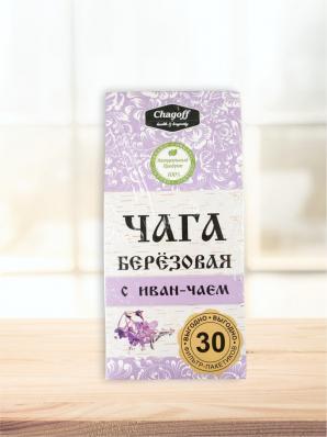 Чайный напиток Иван-чай С ЧАГОЙ 26ф/п (Chagoff)
