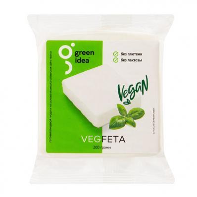 Сыр растительный ФЕТА 200гр (Green idea)
