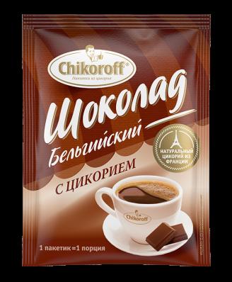Напиток из цикория БЕЛЬГИЙСКИЙ ШОКОЛАД 12гр (Chikoroff)